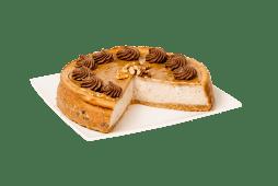 Cheesecake nueces y dulce de leche