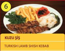 Kuzu sis - Turkish lamb  shish kabab 150gr