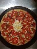 Pizza especial Rosa de Madera