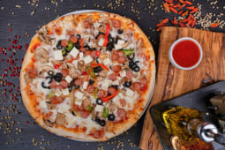 Pizza Hot Colors