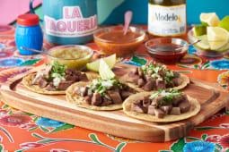 Tacos con lengua (4 uds.)