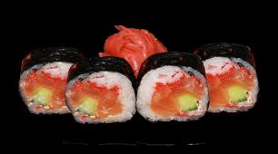 Футомакі лосось (12шт)