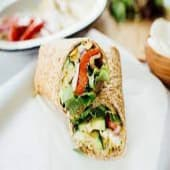 Barbeque Vegetable Wrap