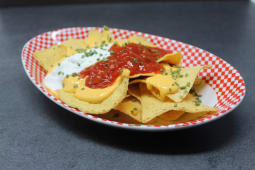 Nachos Chips Graffiti -half portion-