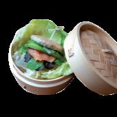 Bao salmon & avocado