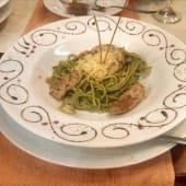 Spaguetti Salsa Pesto
