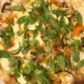Pizza dell orto ( de la huerta)