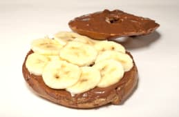 Bagel nutela-banana