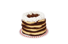 MiniMaria de chocolate con lúcuma