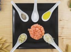 Tartare esotica di salmone
