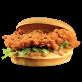 Menú sándwich campero extra crujiente