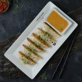 Гьодза з тріскою та лососем (150/30г)