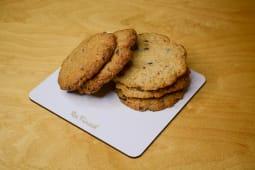 Печиво вівсяне з шоколадом і горіхами (35г)