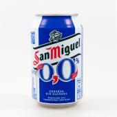 Cerveza San Miguel sin alcohol en lata (33 cl.)