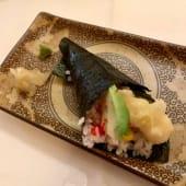 Temaki ebi tempura