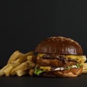 Big Jack Burger + Papas fritas