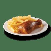 Octavo de pollo asado