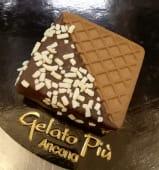 Biscotto semifreddo piccolo cioccolato