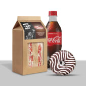Lunch box: tramezzini, bibita o juice 12oz o tea breeze, e donut