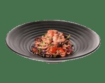 Жареная Удон лапша с курицей и овощами в устричным соусом (350г)