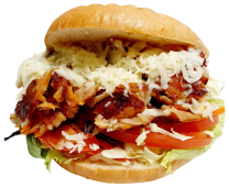 Doner Kebab with Cheese