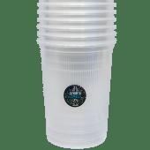 Vasos transparentes (6 uds.)