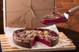 Пиріг з вишнею в шоколадному тісті (163г)