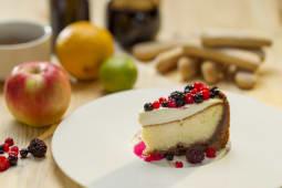 Cheese cake cu fructe de padure