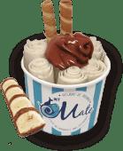 Muy Bueno - Kinder Bueno White com Topping de Nutella