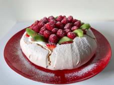 Pavlova com frutos vermelhos (un)