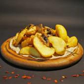Картопля скибками з грибами (200г)