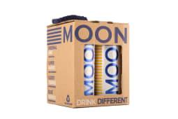 Pack 4 Latas Moonwater drinks