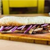 Sándwich de molleja