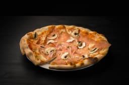 Pizza Prosciutto e funghi 1 + 1 gratis
