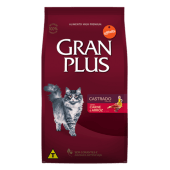 Gran Plus Gato Adulto Castrado Sabor Carne & Arroz 10 Kg