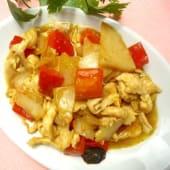 0121. Pollo in Salsa Curry