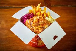 Kebab box - kurczak
