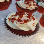Cup Cake De Red Velvet