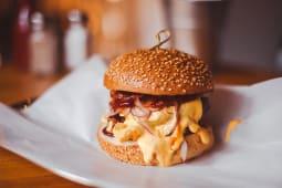 Бургер BBQ з копченим беконом 410 г