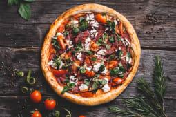 Pizza Bresaola con bufala Ø 32cm