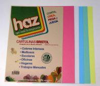 Cartulina Bristol Colores A4 Pqtx10Hjs