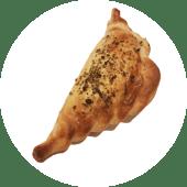 Empanada de vacío con salsa criolla