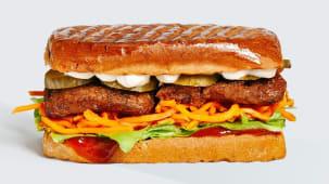 Сендвіч стейк+баффало