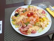 Salada de Salmão Fumado