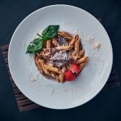 Паста з телятиною в вершковому соусі (320г)