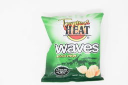 Tropical Heat Cheese & Onion Waves Crisps