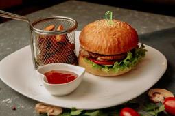Бургер с курицей (300г)
