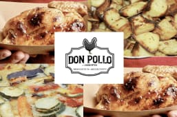 Menu' Don pollo box verdure
