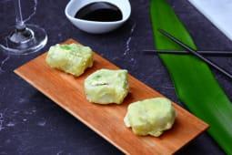 Sushi en tempura (3 uds.)