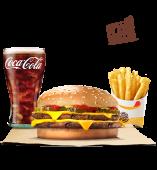 Menu Double Cheeseburger